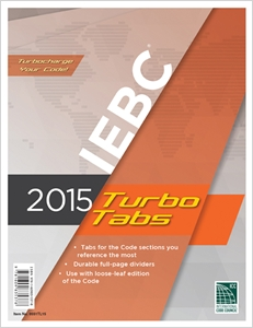 cover image - 2015 International Existing Building Code® Turbo Tabs for Loose Leaf Edition