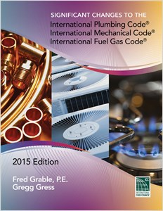 cover image - Significant Changes to the IPC, IMC, and IFGC, 2015